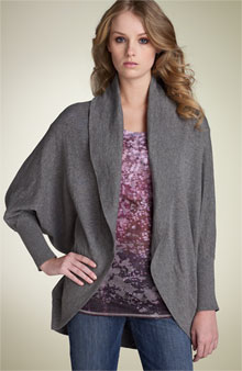 kensie drape sweater