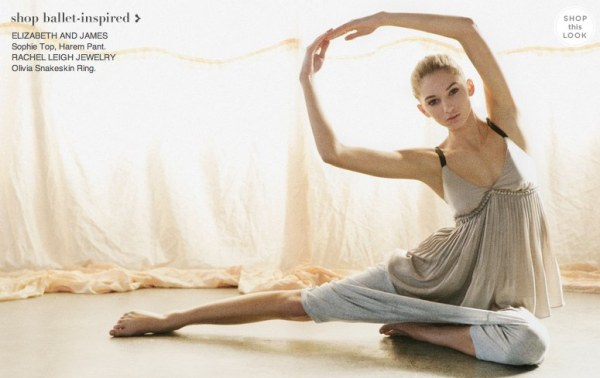 Ballet inspired clothing looks and fashion from Shopbop-4