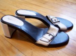"""Aerosoles (""""borrowed"""" from my mom - they went really well with a dress)"""