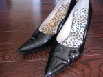 Pele Moda from John David's: The leopard insoles are by Bata :)