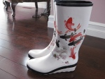 Cougar from Winsby's: Because you can't beat wedge rubber boats with Koi fish!