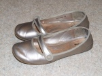 Transit - silver mary janes are the best. These might actually be almost worn out but I can't bear to throw them away.