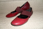Cheapie shoes from the Bay. Red! Shiny!
