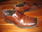 """Aldo - The brown shoes. I had a couple years of internal struggle before I decided I could wear loafers. It's the word """"loafers"""" that turned me off. What kind of person wear's loafers? I guess I am."""