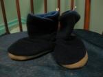 Blue Fleece Boots