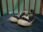 Tiny Blue Keds deck shoes