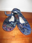 Backup shoes from Toronto's Chinatown - Cute, but no fun to walk in.