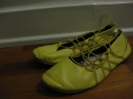 Purchased for $1 in a church basement - Worn to death. I consigned these to be tossed after shooting them.