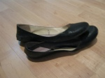 Black flats-Joe Fresh -  These shoes are basically rotten I've worn them so much. Why won't I fork over $29 for a shiny new pair? Because I'm a stingy biatch.