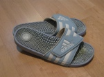Slides-Adidas (Sport Chek) -  I had a black pair in high school and wore them everywhere. They seemed a lot comfier back then.
