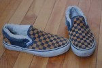 """Vans, ebay - These were my """"winter sneakers"""" for awhile. Note the faux fur lining...."""