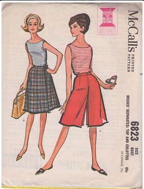McCalls Culottes